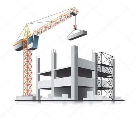 Kran Flexibel Precio Construcci 243 N De Edificios Con Gr 250 A Vector De Stock