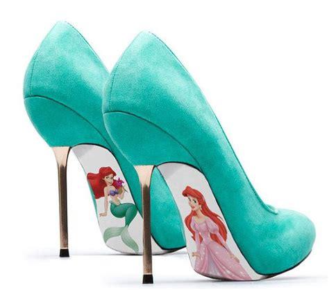 ariel shoes for custom painted mermaid pumps 7 mermaid