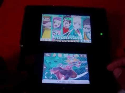 tutorial creating custom 3ds themes youtube megaman starforce 3ds theme with custom sounds 3 youtube