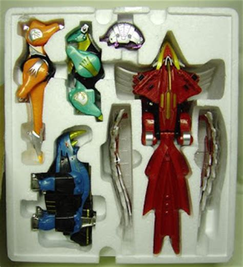 japan hobby isis megazord power rangers wild force