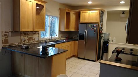 kitchen cabinets wisconsin white paint rejuvenates kitchen cabinets in lake geneva