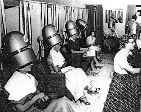 vintage picture of a salon 1950 s salon