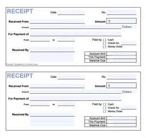 Receipt Of Payment Template by Sle Receipt Template 12 Free Documents In Pdf Word