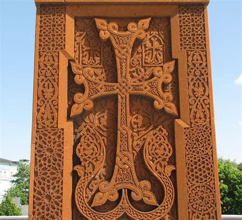 armenian cross stone in moscow alexanyan flickr