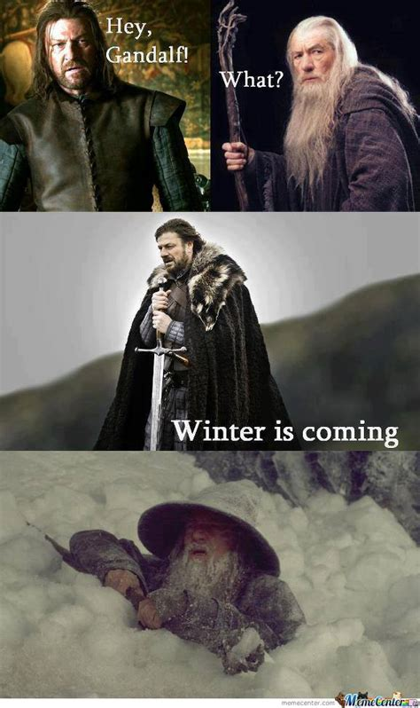 Winter Is Coming Meme - winter is coming by berenger pottie meme center