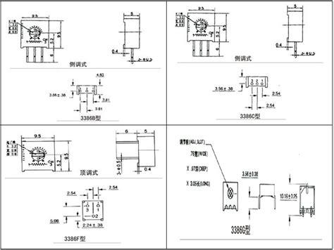 3386 Series 3386p 3386p 1 102 Trimpot Variabel Resistor Presisi 102 1k alps potentiometer variable resistor trimpot 3386h 10 ohm