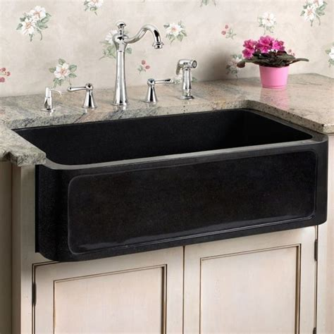 black composite farmhouse composite sinks granite sinks and design on pinterest