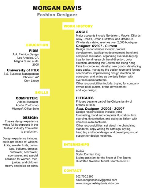 Two Column Resume by Clever And Two Column Resume Design Resume