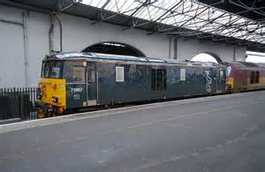 Inverness Sleeper by Class 73 On The Sleeper Inverness 169 Craig Wallace Cc