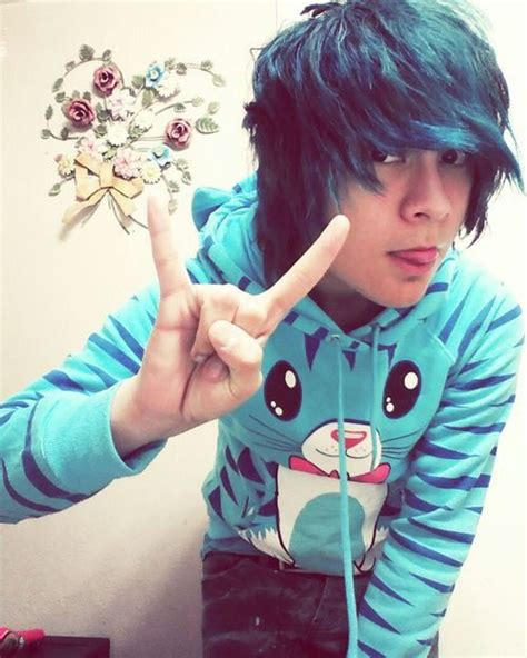 Are People Still Having Scene Hair In 2015 | 25 best characters boys blue hair images on pinterest