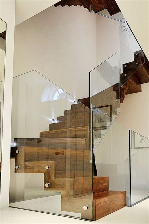 Glass Staircase Design 20 Glass Staircase Wall Designs With A Graceful Impact On The Overall Decor