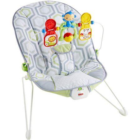 Walmart Baby Bouncy Chair - fisher price baby s bouncer geo meadow walmart