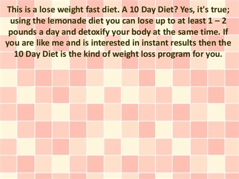 weight loss 10 days 10 day healthy weight loss distributionnews