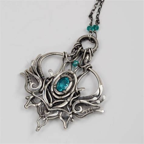 wire works jewelry 972 best wire work pendants necklaces images on