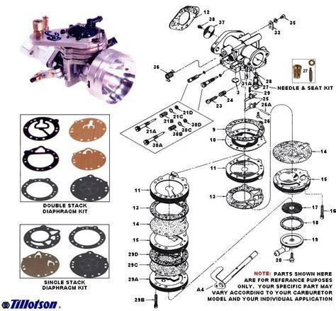 tillotson carb diagram rieken s racing tillotson carburetors out2win