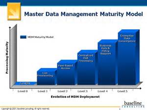 the baseline on master data management five levels of