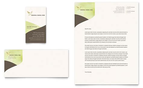 funeral stationery templates memorial funeral program business card letterhead