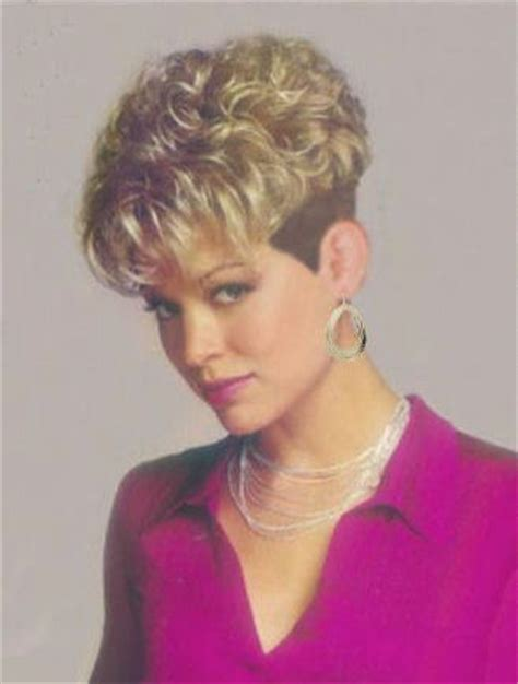 curly wedge hair cutting instructions short permed wedge wedge cuts pinterest wedges and