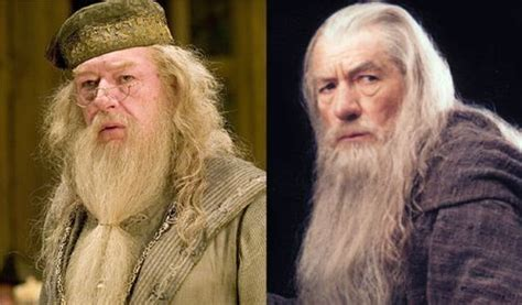actor gandalf y dumbledore viral 237 zalo harry potter vs el se 241 or de los anillos