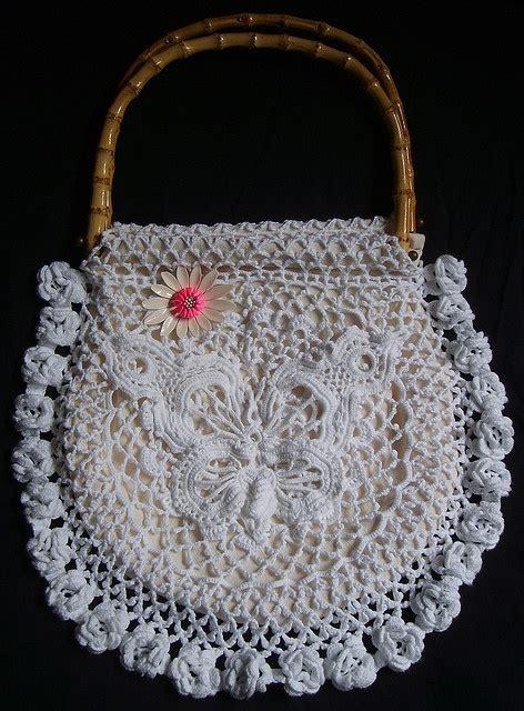 crochet lace bag pattern 324 best crochet irish lace images on pinterest irish