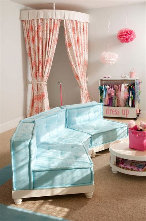 playroom curtain ideas kids dress up playroom contemporary girl s room