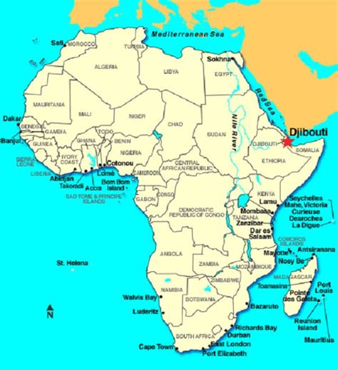africa map djibouti facts djibouti facts top 10 facts about djibouti