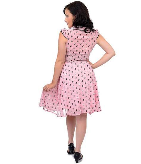 Sale Boneka Gajah Dress Pink Xl phoebe kitties pink chiffon flare dress by voodoo vixen sale sz xl only