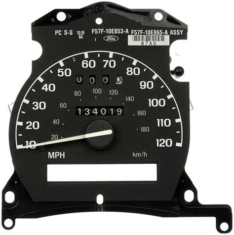 dorman 174 ford f 53 1999 remanufactured instrument cluster 1995 ford powerstroke replacement gauge clusters