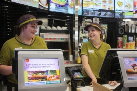 hinckley s renovated mcdonald s reopens with new look