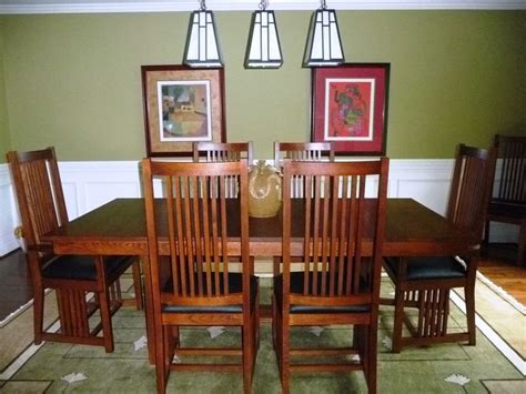 Craftsman Style Lighting Dining Room 708 Best Images About Arts Crafts Rugs On Pinterest