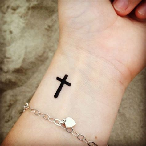 cross tattoo on your wrist 50 captivating wrist tattoo designs