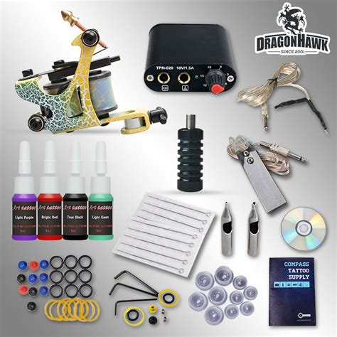 tattoo kit to buy aliexpress com buy beginner tattoo kit 1 machine