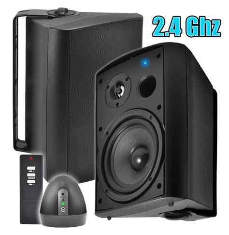 wireless outdoor speakers patio pair osd audio wpa