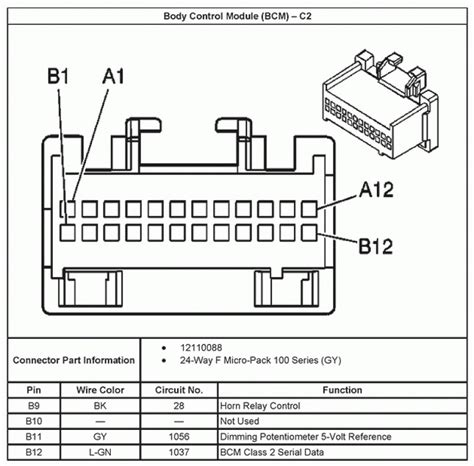 2004 silverado radio wiring diagram efcaviation