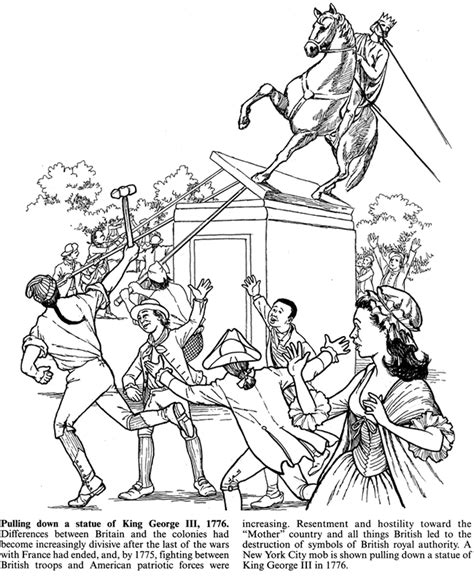 colonial boy coloring page how to draw colonial women