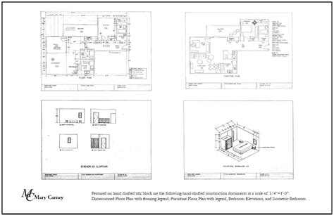 floor plan title block mary carney drafting and autocad drafting by mary carney