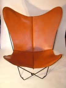 1960 s vintage retro leather butterfly chair cover