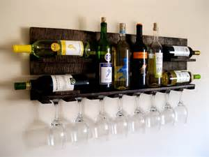 reclaimed wood wine rack pallet wood wine rack