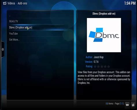 dropbox youtube videos how to install dropbox addon in xbmc player youtube