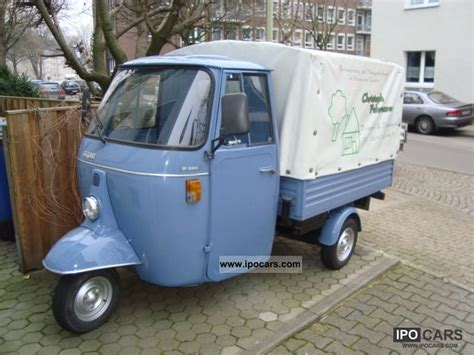 1991 piaggio ape car photo and specs