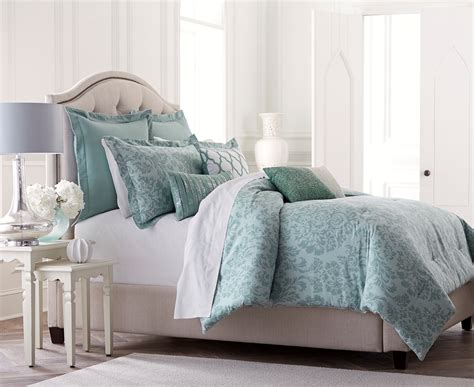 blue damask bedding jaclyn smith 5 piece comforter set blue damask home
