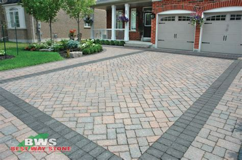 Who Had The Best Sidewalk Style This Year by Driveway Designs Traditional Toronto By Best Way