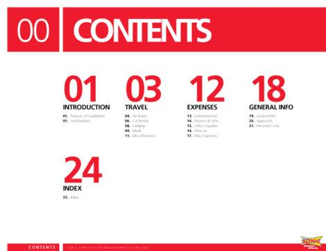 design inspiration table of contents table of contents creative exles smashing magazine