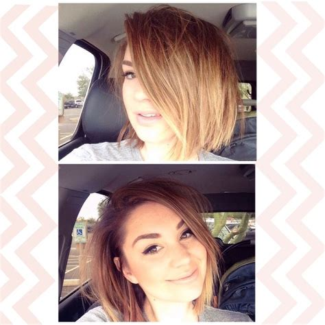 the hobre look on bobs haiecuts choppy bob with ombre ombre hair color pinterest