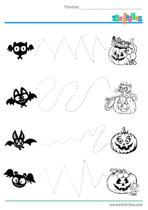 imagenes halloween pdf descarga actividades de grafomotricidad de halloween