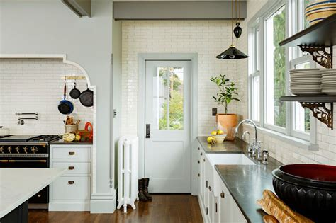 kitchen alcove ideas cooking alcove eclectic kitchen jessica helgerson