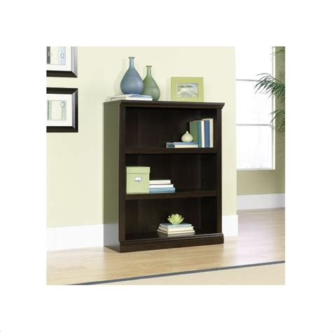 Sauder Furniture Bookcase Sauder 3 Shelf Bookcase In Jamocha Wood 410373