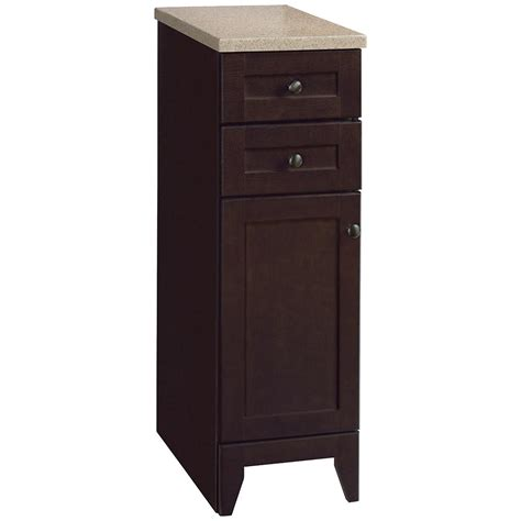 glacier bay kitchen cabinets glacier bay modular 12 1 2 in w bathroom storage floor