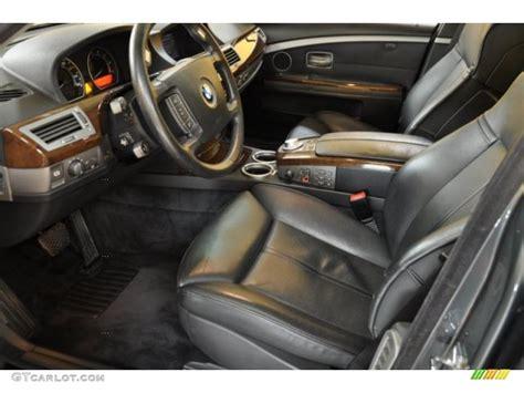 Bmw 745i Interior black black interior 2004 bmw 7 series 745i sedan photo