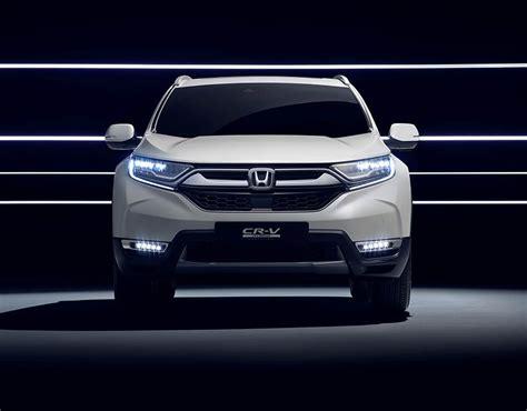 Honda Crv Hybrid 2018 by Honda C Rv 2018 Hybrid Suv To Debut At Frankfurt Motor